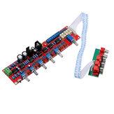 NE5532 Preamplifier Bord HIFI 5.1 Tone Plate Volume Control Panel Preamp Mixer Board Pre-Amplifier Board
