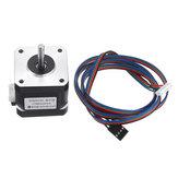 78Oz-in 4-leads NEMA17 stappenmotor met kabel voor TEVO 3D-printer 1.8A-traphoek