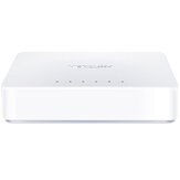 MERCURY 5 Port Ethernet Network Switch Desktop Ethernet Splitter Plug and Play Traffic Optimization