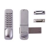 ユニバーサルキーレスエントリーメカニカルキーパッドプッシュボタンパスワード亜鉛合金ドアセキュリティコードロック