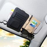 بوالجلودسيارةالشمسقناعنظارات كليب بطاقة القلم حامل التخزين رخصة القيادة رزمة