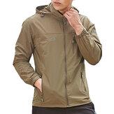 НаоткрытомвоздухеЛегкаяветрозащитнаяВодонепроницаемы Quick Dry Jacket