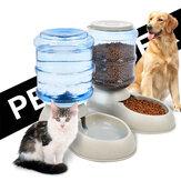 3.75L Portátil Automático para Animais de Estimação Cachorro Alimentador de Bacia de Dispensador de Garrafa de Água para Alimentos