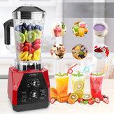 JUSTBUY LT7500 2200W Blender Mixer Juicer Fruit Food Processor Ice Smoothie Electric Kitchen Appliance Time Function