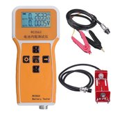 RC3562 Battery Internal Resistance Tester Battery Internal Resistance Tester Lithium Nickel Chromium Lead Acid Battery Test with Test Clips+Battery Test Compartment