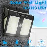 146/250 LED Solar Light Wireless Waterproof Motion Sensor Outdoor Garden Security Solar Lights