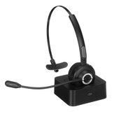 Bluetooth 5.0 üzleti fejhallgató basszus mono Bluetooth vezeték nélküli fülhallgatóval teherautók sofőrjeinek és üzleti dolgozóinak