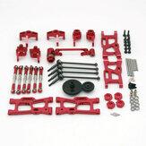Wltoys 144001 124019 124018 Opgewaardeerde metalen onderdelenset RC auto-onderdelen