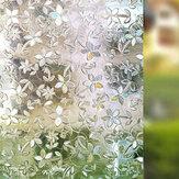 Frosted Window Film Flower Window Αυτοκόλλητο Απόρρητο Anti-UV Γραφείο Διακόσμηση σπιτιού