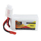 ZOP Power 11.1V 1000mAh 70C Lipo Batterij JST Plug