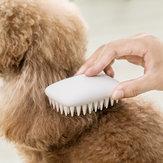 Jordan Judy Pet Comb Silicone Non-slip Massage Grooming Cat Dog Comb Pet Hair Removal Brush