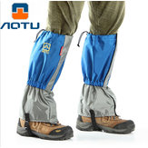 AUTO AT8905 Imperméable à l'eau 210T Nylon Ultralight Trekking Ski à pied Manches à neige Legging Gaiters