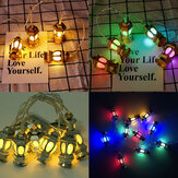 1,65m LED Fairy Lights Wielokolorowa latarnia RO Palace Lampa Party Home Decor