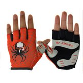 RI SHENG MTB Mountain Motocross Cycling Glove Bike Bicycle Sports Antiskid Half Finger Gloves