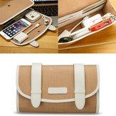 Jisoncase Digital Products Bag Power Bank Bag Organizer Telefoon Bag Muis Kabel Flash Disk Organizer