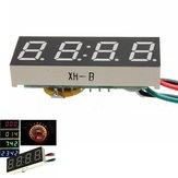 Numérique LED horloge de DC du moteur de moto de camion de voiture de temps de 24 heures