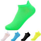 Floresan Renkleri Erkek Kısa tüp Çorap Rahat Güvenir Çorap