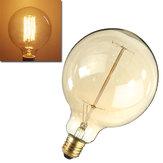 Lampadina ad incandescenza e27 40w 220v G125 globo retrò edison lampadina