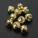 10pcs 8mm metallo Jingle Bell Natale piccolo Tinkle Bell Craft