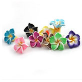50pcs Multicolor Polymer Fimo Clay Flower DIY Craft Spacer Loose Beads