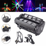 LED Spinnen Beam Moving Head Bühnenbeleuchtung DJ Party Disco DMX512 24W RGBW 4 IN 1