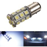 T25 1157 BAY15D White 24 5050 SMD LED Car Stop Tail Brake Light Bulb