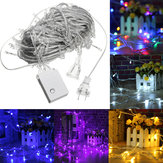 AC110V 20M 200LED Vanntett Fairy String Light Jul Utendørs Bryllup Fest Lampe US Plug
