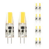 10X ZX Dimmable Mini G4 LED COB LED Bulb 2W DC/AC 12V Chandelier Light Replace Halogen G4 Lamps
