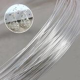 1m / 40inch 990 925 Sterling Silver Wire DIY Design Handmade Jewelry Tools Akcesoria Bransoletka