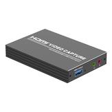 Karta przechwytywania wideo HDMI na USB3.0 Karta akwizycji HD 4k60hz z portem audio Pudełko do nagrywania na żywo Gra Rejestrator wideo HD Zenhon T-403