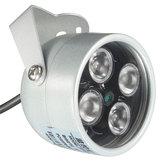 HOBOVISIN CCTV 4 Array IR LED Illuminator Light CCTV IR Infrared Night Vision for Surveillance Camer