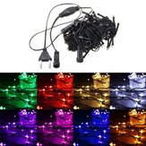 10 M 100 LED String Fairy Light Outdoor Kerstvakantie Bruiloft Lamp 220 V