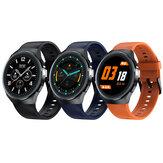 [bluetooth Call] AllCall Active Tela de toque total redonda de 1,3 polegadas ECG Coração Taxa de pressão arterial SpO2 Monitor de música Controle de câmera de relógio inteligente