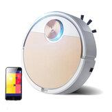 ES06 Smart Robot Aspirador de Pó 450ml selado para poeira Caixa APP Controle Remoto Limpeza automática para remoção de poeira
