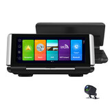 K7 7 Inch 4G Android 8.1 FHD 1080P Full Screen IPS Touch Dashboard 4G Car DVR Dash Cam with RAM2G Dual Camera GPS Navigation ADAS and WIFI Video Recording