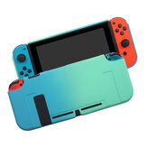 Oil-sprayed Crystal Case Thin Dock Crystal Protective Case for for Nintendo Switch Game Console