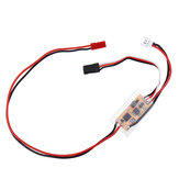 3.7V 1S 12A Brushed ESC With BEC 5V 600mA Boost For 720 / 820 / N20 / N30 Coreless Motor RC Airplane
