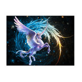 5D Diamond DIY Schilderen Pegasus Embroidery Diamond Draw Picture Muur van het Huis Ambacht Decor