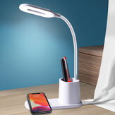 Bakeey MagSafe Magnetic Wireless Charger LED Eye Protection Desk Lamp For iPone 12 12Pro Huawei P40 Mate40 Pro