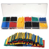 280pcs Assortment Ratio 2:1 Heat Shrink Tube Tubing Sleeving Wrap Kit With Box
