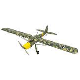 Dacing Kanat Hobbys SGG21 Fi156 1600mm Kanat Açıklığı Balsa Ahşap RC Uçak Komple Kit Ile Kapak Filmi