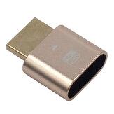 قابس دمية متوافق مع HDMI من ITHOO 4K عرض محاكي HD افتراضي عرض محول لسطح المكتب للكمبيوتر