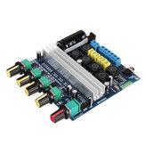 TPA3116 Placa do amplificador do subwoofer 2.1 canais de alta potência Bluetooth 4.2 Amplificadores de áudio DC12V-24V 2 * 50W + 100W Amplificador