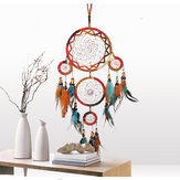 Estilo indiano Dream Catchers Pendurado Decorações Para Quarto Home Decor Dream Catcher Pingente Presente Indian Dream Catcher Decorativo Pendurado Em Ornamentos