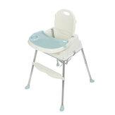 Opvouwbare 3-in-1 baby-baby-eetkamerstoel Kindervoedingstafel voor peuters Booster