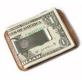 レザーカードホルダークレジットカードケース屋外キャンプウォレットクリップビジネストラベルIDカードボックス