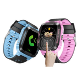 Bakeey Y21 Screen Touch Kinderen Kid LBS SOS Oproeplocatie Device Tracker Smart Watch