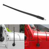 13 Inch Car Aerial Radio Antenna Mast AM FM Black For Jeep JK JL 2007-2018