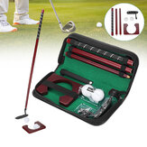 Golf Putter Set Removable Golf Alignment Stick Chipping Swing Trainer Sport Golf Pole with Golf Ball