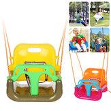 Giocattoli altalena 3 in 1 Sedia sospesa antiscivolo Sedile altalena di sicurezza per bambini Giardino esterno per più di 6 mesi